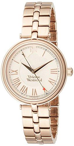 Vivienne Westwood watch Farringdon gold dial stainless steel Quartz VV168NUNU Ladies