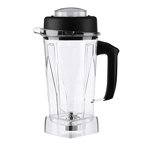 Smoothies Blender,Professional Blender Cup Spare Parts Smoothie Machine Food Processor 2L Container Jar + Rubber for Vitamix 60oz ()