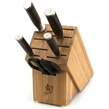 Shun TDMS0600 Premier 6-Piece Basic Block Knife Set