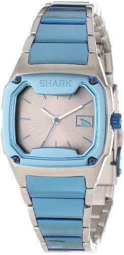Mens Shark Killer Shark (Freestyle Men's 101816 Killer Shark Analog Silver Silver Dial Mid Bracelet Watch)