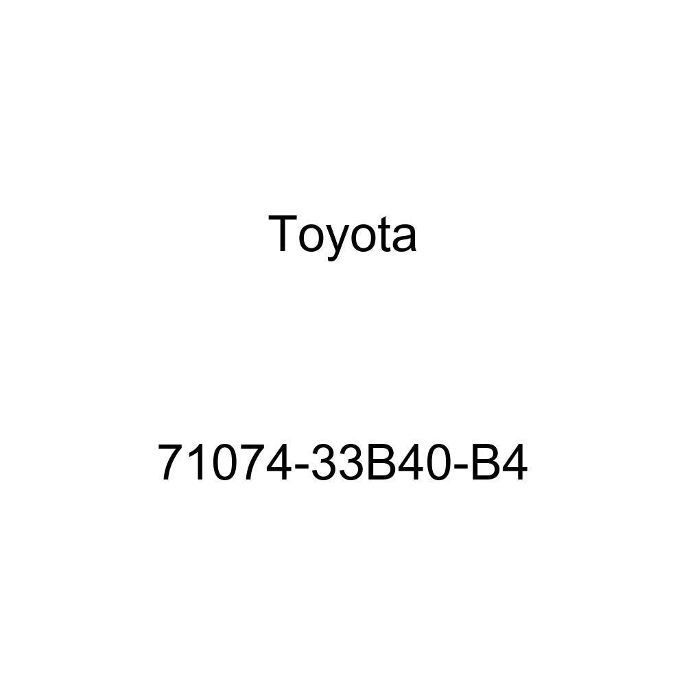 TOYOTA Genuine 71074-33B40-B4 Seat Back Cover