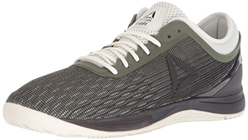 Reebok Men's Crossfit Nano 8.0 Sneaker, Hunter Green/Coal/Chalk, 12.5 M (Grn Mens Sneakers)