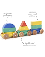 Save on Tegu Shape Train Building Blocks (9 Piece), Big Top, One Size (Amazon Exclusive) and more