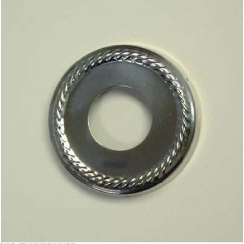 - Kingston Brass Chrome Finish Made To Match Decor Escutcheon Rope without Ring