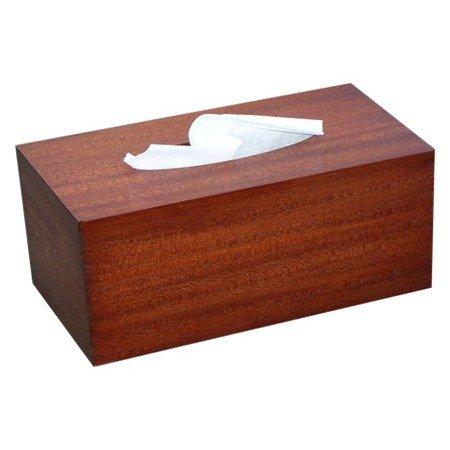 Wooden Tissue Box Cover Antique Mahogany Veneer Rectangular Regular Size. (Kleenex Opening With (Homemade Peacock Halloween Costume Ideas)