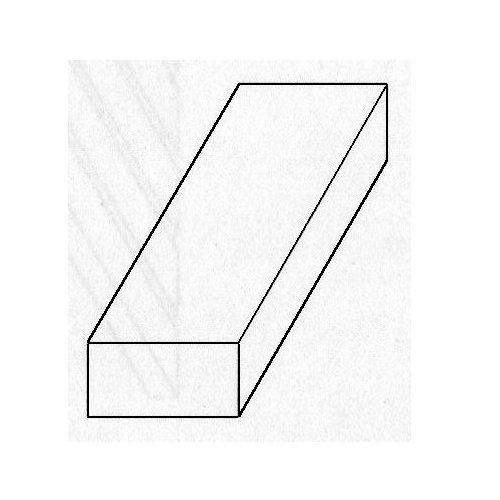 """UPC 614121182394, Brass Strips 12"""", 025 X 2"""", Carded"""