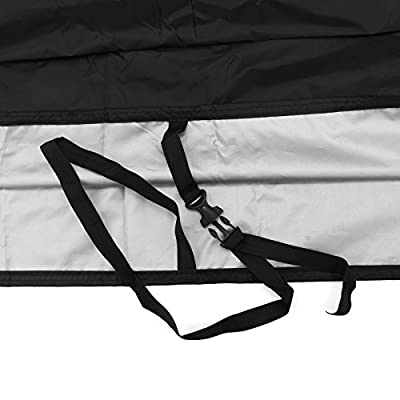 ATV Cover Waterproof for Polaris Sportsman Yamaha Grizzly Honda Kawasaki With Straps Reflective Storge 79 x 37 x 42 inch: Automotive