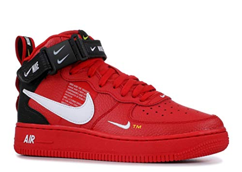 Air Force 1 Mid Lv8 (Gs) - Av3803-600 - Size 6.5Y Air Force 1 Mid Shoes