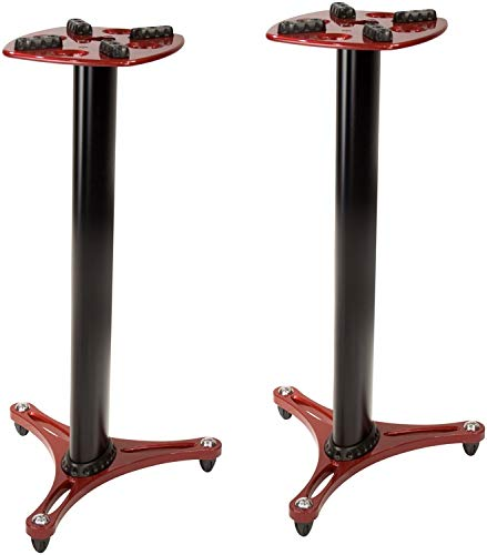 Ultimate Support ULTIMATE Professional Column Studio Monitor Stand Red 36 MS9036R