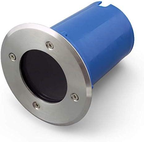 jardin Spot encastrable /à LED//halog/ène OPN-1 GU10 max 50 W pour ext/érieur IP67 avec bo/îte de montage pour terrasse ext/érieur