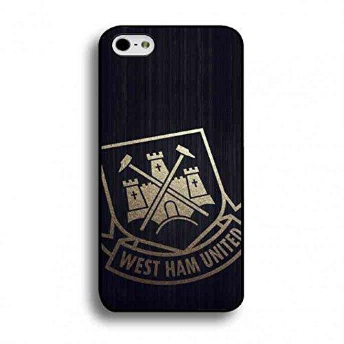 West Ham United Team Phone Custodia Cover,For IPhone 6/IPhone 6S(4.7inch) Custodia West Ham United Team Logo Phone Custodia,West Ham United Team Custodia Cover Phone Black
