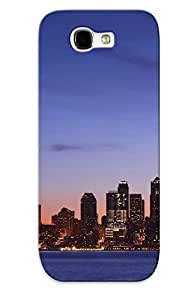 NvfrCpb1642jubKl Cover Case - Seattle At Dawn Protective Case Compatibel With Galaxy Note 2
