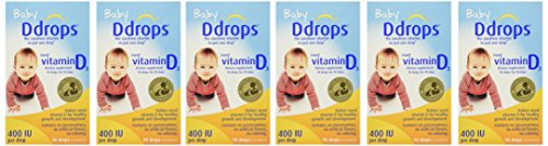 Ddrops Baby Drops 6 Count