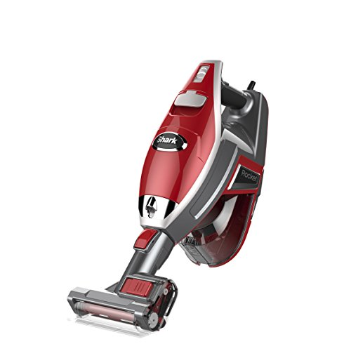 Shark HV319Q Shark Rocket DeluxePro Hand Vacuum, Red (Certified Refurbished)