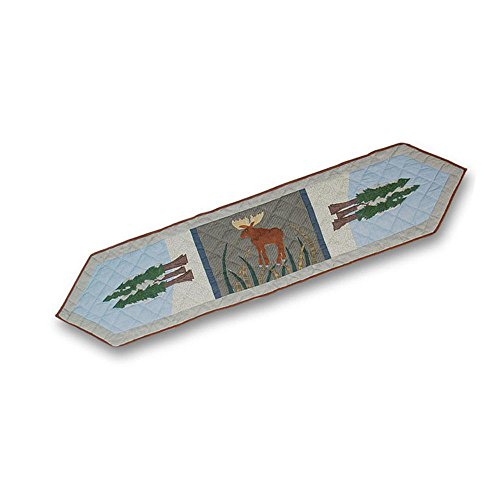 - Patch Magic 72-Inch by 16-Inch Moose and Eagle Motif Table Runner