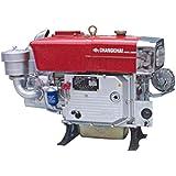 Motor Estacionário Changchai S1100A2M, diesel, 16,0hp/12,1kw, part.elétr. hopper(refrig.água) 2200rpm, 903cc