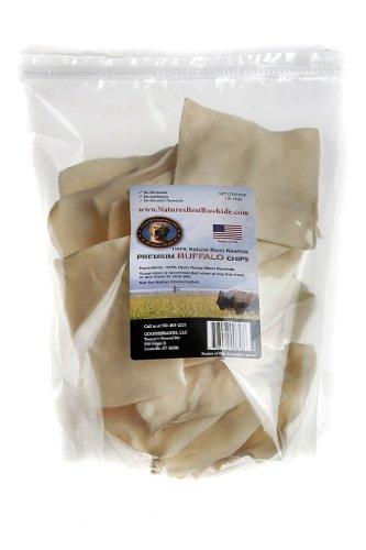 Tasman's Natural Pet All-Natural Buffalo Rawhide Chips - 1 Pound by Tasman's Natural Pet
