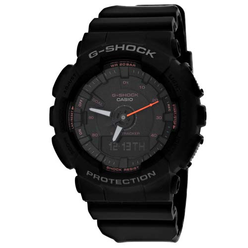 Casio G-Shock S-Series Step Tracker Black Watch GMAS130VC-1A
