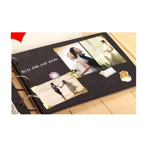10 Inch 30 Sheets 60 Pages Hand Scrapbook Diy Photo Album Book For