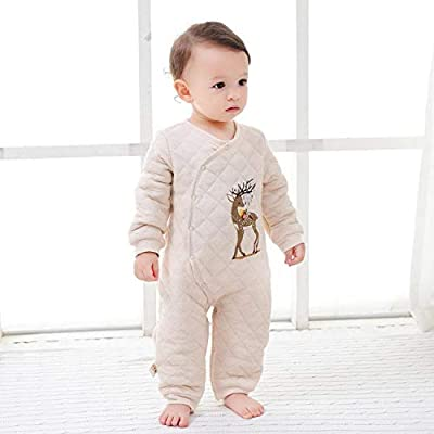 New Thick-Seated Baby Cotton Coat, Colored Cotton Robes, Baby Onesies, Newborn Rompers, Jumpsuits