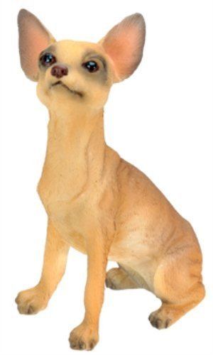 Tan Chihuahua Figurine (Chihuahua (Tan) Dog - Collectible Statue Figurine Figure Sculpture)