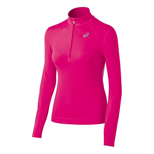 ASICS Womens Thermopolis LT Thermal Lightweight 1/2 Zip Top