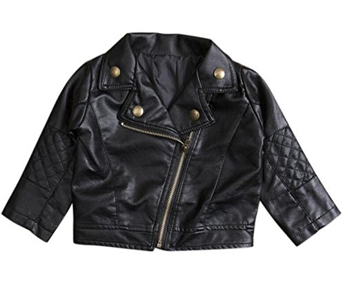CM C/&M WODRO Toddler Baby Boy Girl Motorcycle Faux Leather Jackets Coat Winter Outwear for 1-5Y