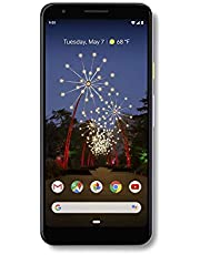 Google - Pixel 3a with 64GB Memory Cell Phone (Unlocked) - Purple-ish