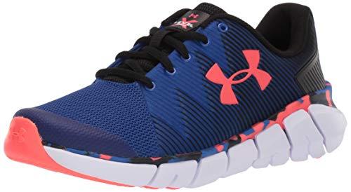 Under Armour Boys' Grade School X Level Scramjet 2 Sneaker, Royal (402)/Black, 4.5 M US Big Kid