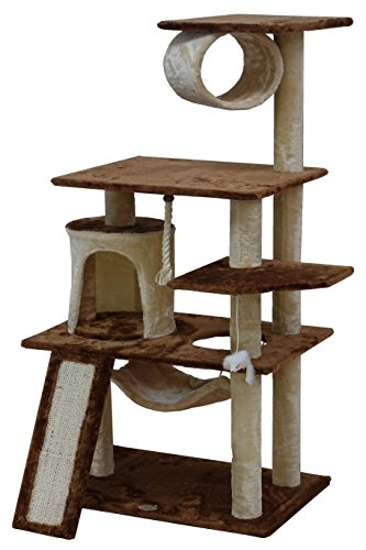 "Go Pet Club F712 53"" Kitten Tree"