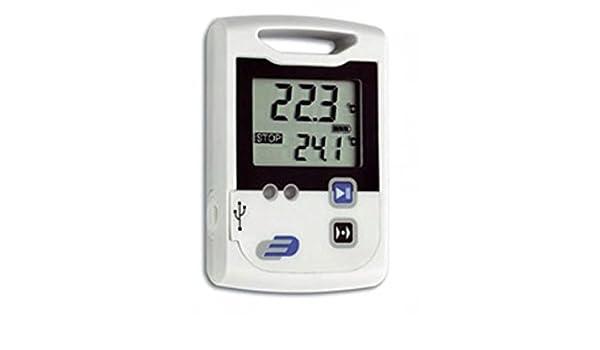 TFA 31.1039 termómetro ambiental - termómetros ambientales (Digital, Rectangular, CR2032, 1,5V, 6 cm, 2,1 cm) Color blanco: Amazon.es: Hogar