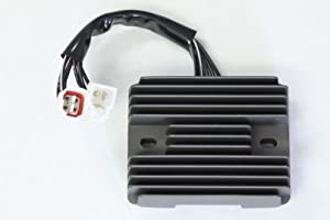 Amazon.com: Voltage Regulator Rectifier Assembly - Suzuki ...