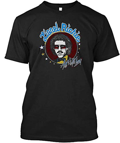 Vintage Lionel Richie All Night Long T-shirt Customized Handmade T-shirt For Unisex
