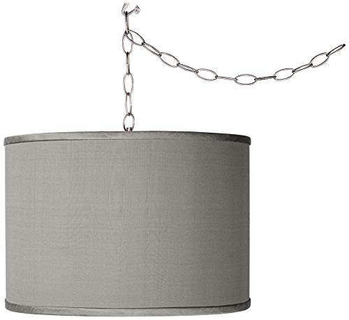 Drum Pendant Light With Chain in US - 4