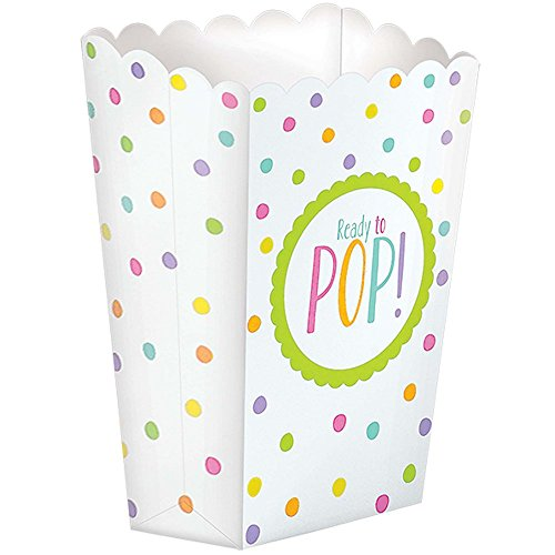 Neutral Baby Shower Popcorn Boxes (20 ct)