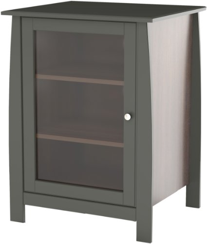 Pinnacle 1-Door Audio Tower 102217 from Nexera - Espresso by Nexera