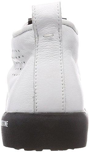Baskets White White Blackstone Pm42 Homme Hautes Blanc 5wPPFqX