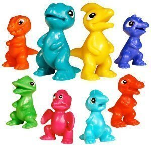 Dinosaur toys Pack of 100 by Microsaurs