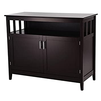 Amazon Com Modern Kitchen Storage Cabinet Cupboard Buffet