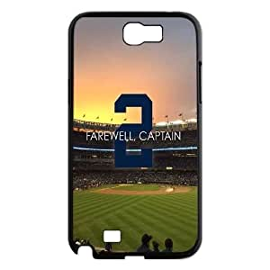 Fggcc Derek Jeter Pattern Hard Case for Samsung Galaxy Note 2 N7100,Derek Jeter Note2 Case (pattern 4)