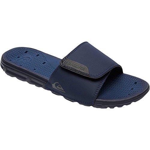 Quiksilver Men's Amphibian Adjust Gleit Sandale Schwarz / Blau / Grau