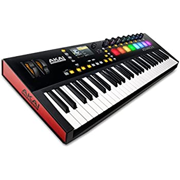 Akai Professional Advance 61 | 61-Key Virtual Instrument Production Controller with Full-Color LCD Screen & 10K Sounds Download