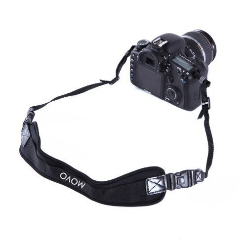 Movo Photo NS-2 Shock-Absorbing Padded Neoprene Camera Neck