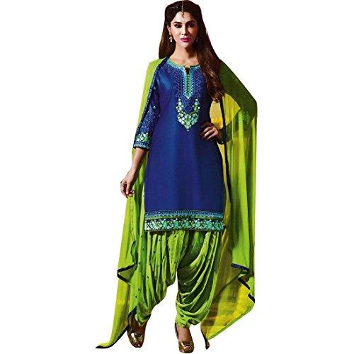 Readymade-Cotton-Patiala-Embroidered-Salwar-Kameez-Suit-Indian-PH-55