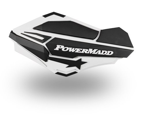 PowerMadd 34408 White/Black Sentinel Handguard by PowerMadd (Image #1)