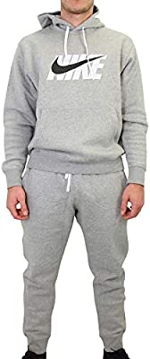 NIKE Sportswear Chándal, Hombre, dk Grey Heather, S: Amazon.es ...