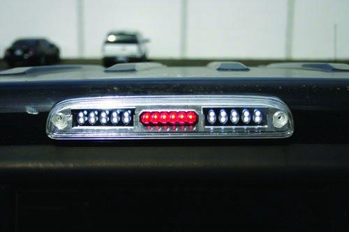 IPCW LED3-500C Ford Ranger//Super Duty Crystal Clear LED Third Brake Light