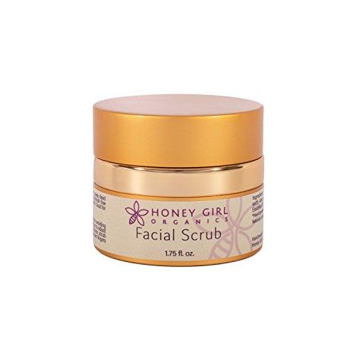 Honey Girl Organics Facial Scrub, 1.75 Fluid - Honey Girl