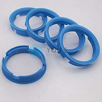 4 x Anelli di Centraggio Anello Distanziatore per Cerchi in Allumio Z10 70,0-67,1 mm Alluminio Tec Venetico Rial