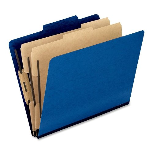 UPC 078787363151, Pendaflex Colour Pressguard Classification Folders, Letter Size, Blue, 10 per Box (1257BL)